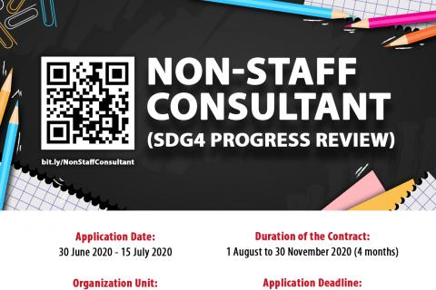 Call for Consultancy: Non-Staff (SDG4 Progress Review)