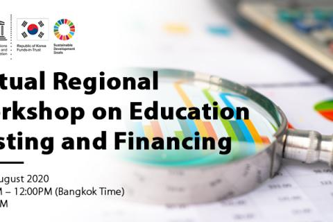 Virtual Regional Workshop on Education Costing and Financing