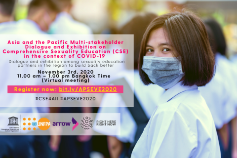 Asia and the Pacific Multi-stakeholder Dialogue and Exhibition on Comprehensive Sexuality Education (CSE) in the context of COVID-19