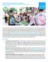COVID-19 Case Study: China – Supporting the school reopening for 241 million children