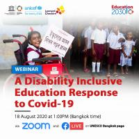 A Disability Inclusive Education Response to Covid-19