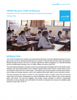 Issue Brief: COVID-19 and Girls' Education in East Asia and Pacific