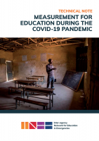 INEE Technical Note on Measurement for Education during the COVID-19 Pandemic