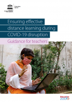 Ensuring effective distance learning during COVID-19 disruption | Guidance for teachers